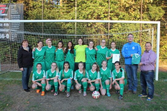 U17-Juniorinnen gewinnen Fair-Play-Preis