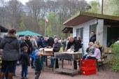 Lokalzeit Ruhr beim Osterfeuer