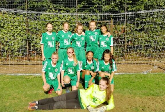 U17-Juniorinnen im Endspiel um den Kreispokal