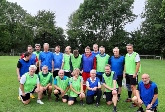 Erstes Walking Football Turnier