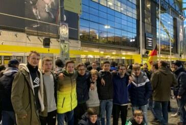 C-Jugend beim Länderspiel in Dortmund
