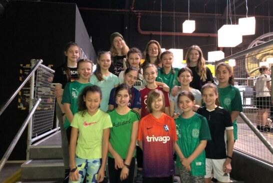 Teambuilding bei den U13-Juniorinnen